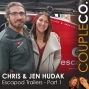 Artwork for RV Escape Couple: Chris & Jen Hudak of Escapod Trailers in Wanship, UT, Part 1