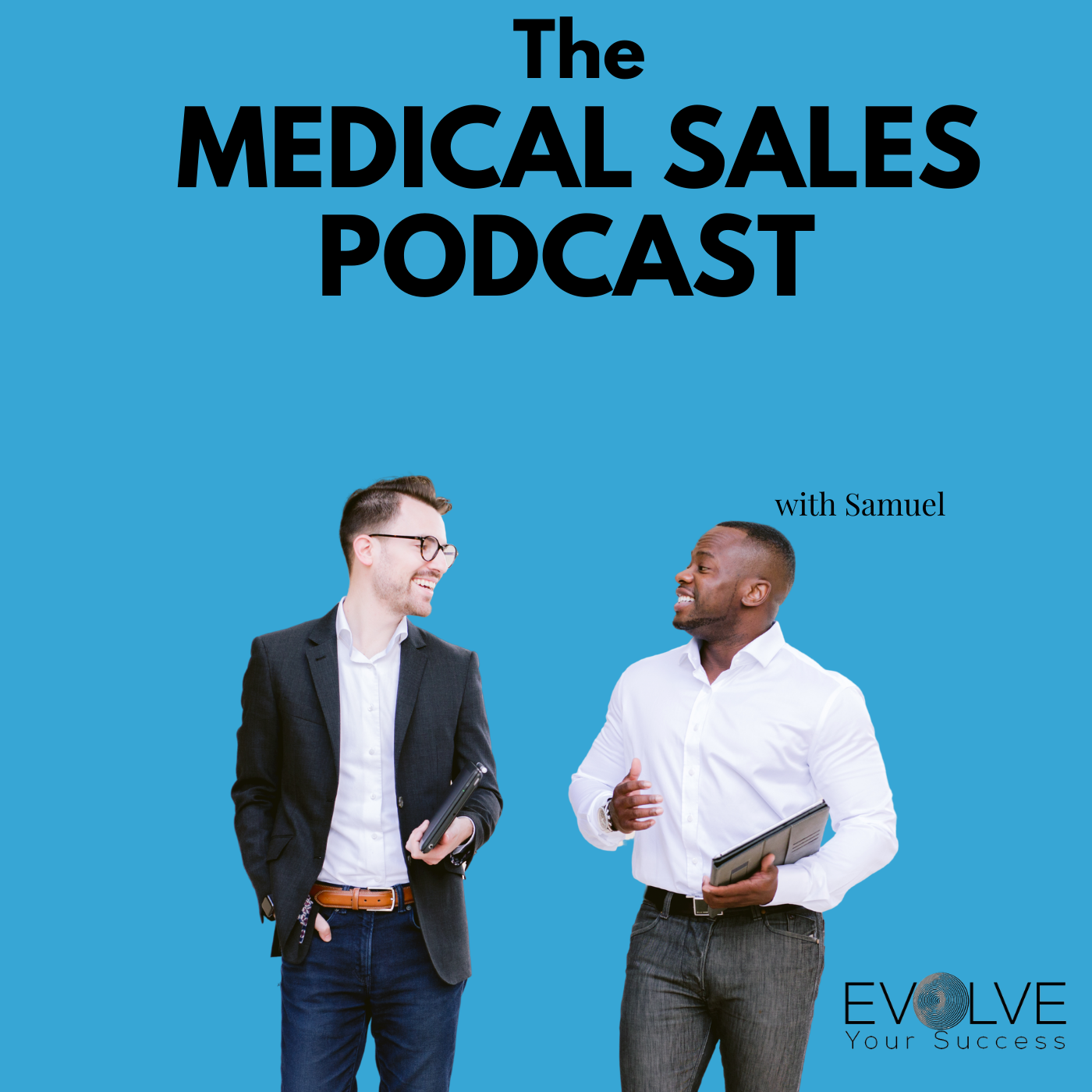The Medical Sales Podcast show art