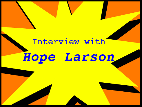 Cammy's Comic-Con Corner: WonderCon - Hope Larson Interview