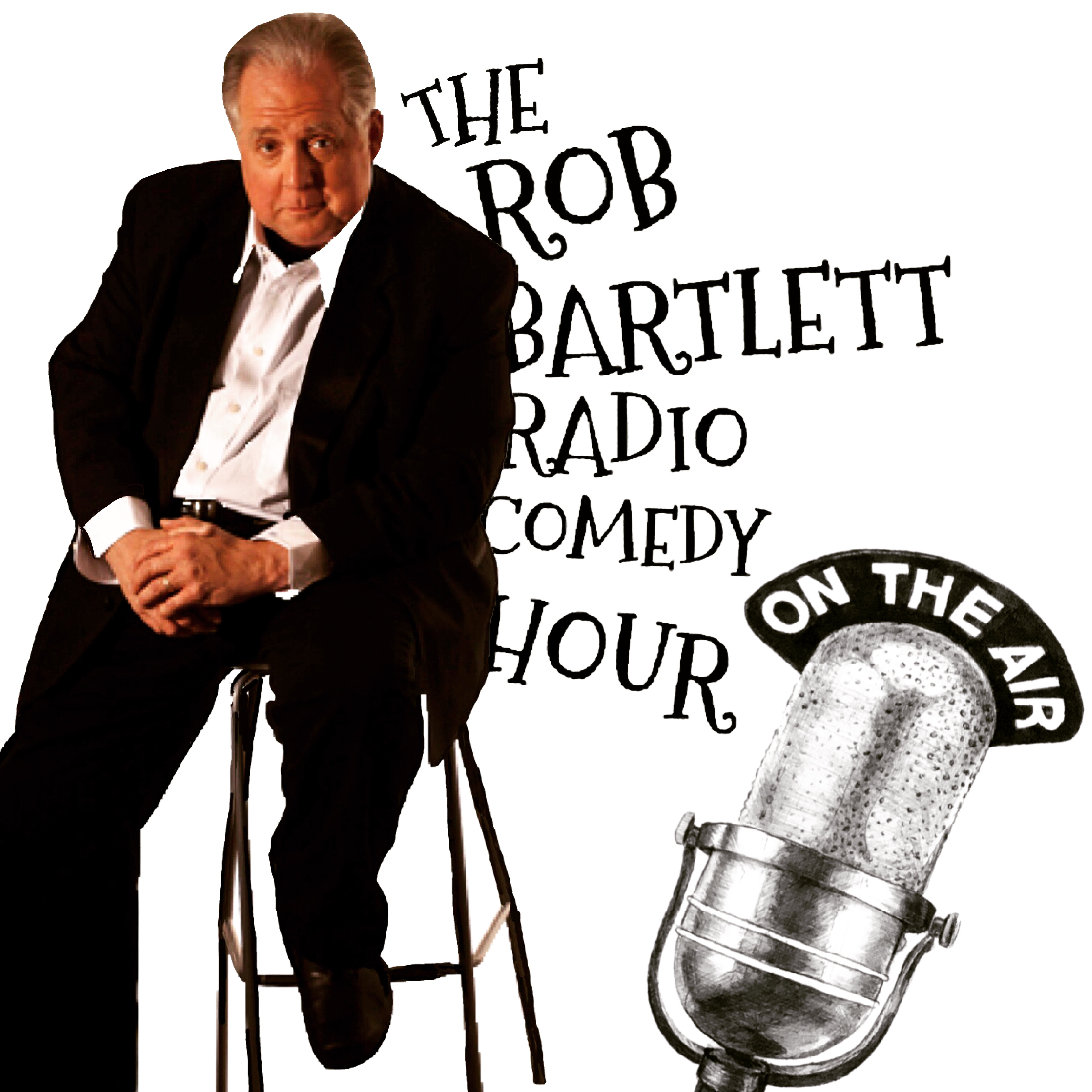 The Rob Bartlett Radio Comedy Hour show art