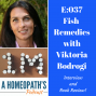Artwork for E037: Fish Remedies: A Book Review and Interview with Viktoria Bodrogi