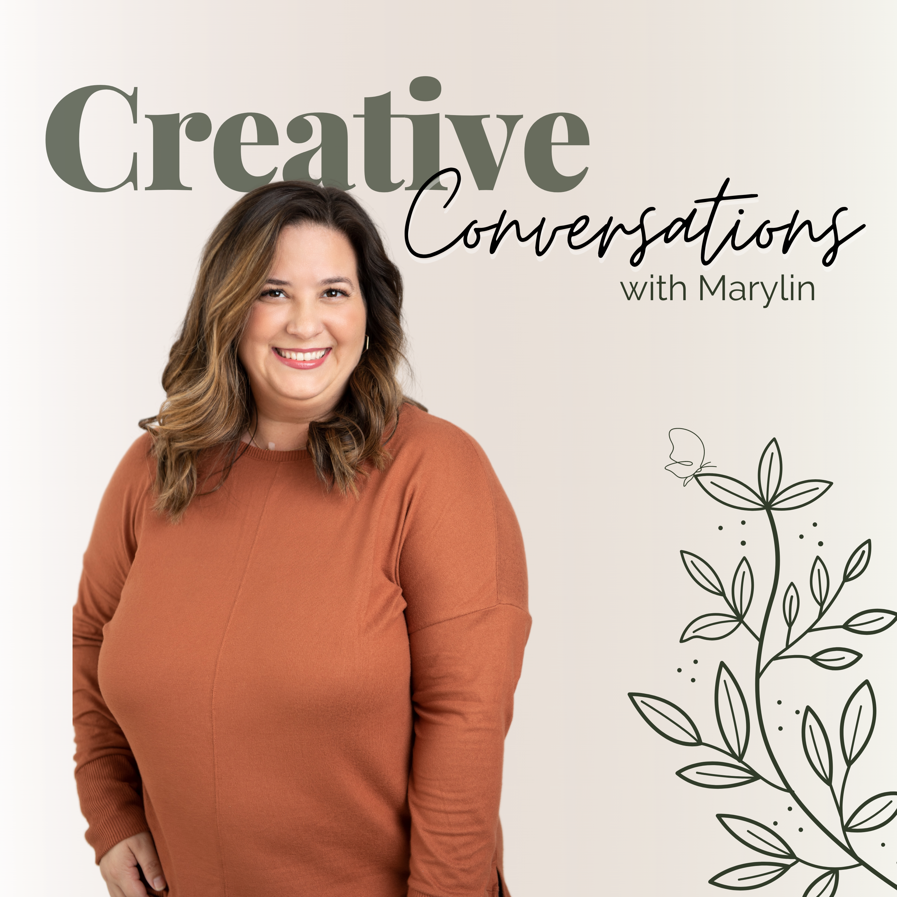 Creative Conversations with Marylin show art