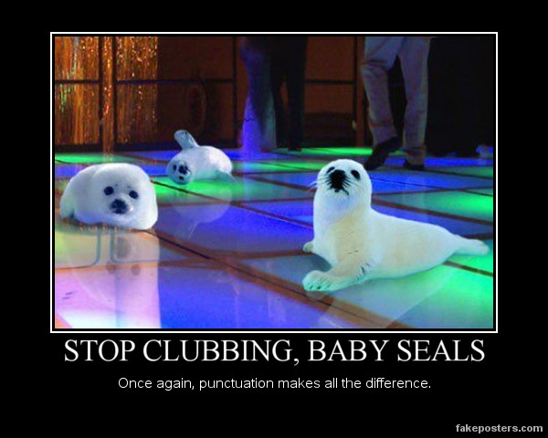 Episode 36: Terrified Baby Seals