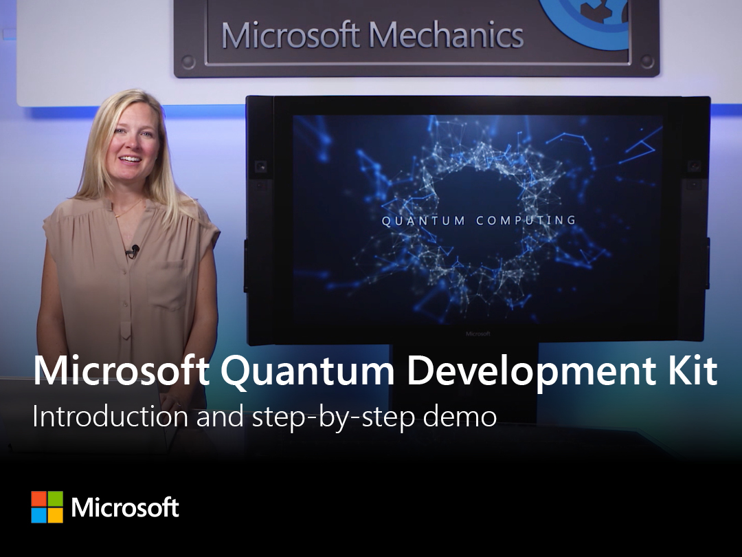 Artwork for Microsoft Quantum Development Kit