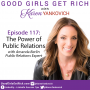 Artwork for 117 – The Power of PR with Amanda Berlin