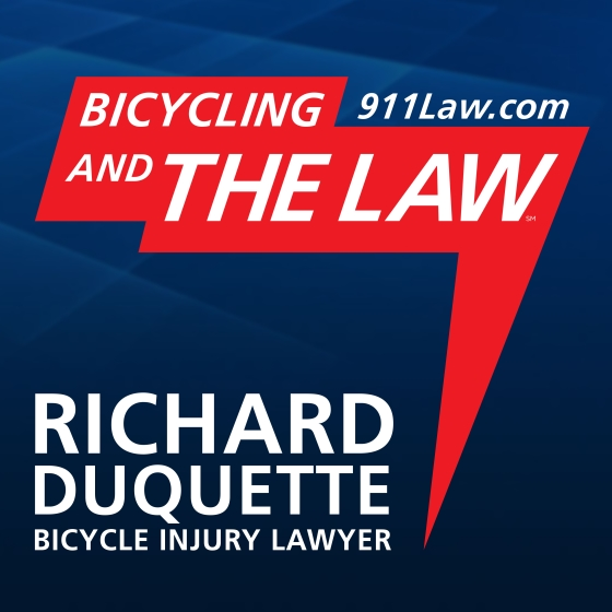 Bicycling and the Law - 911Law.com show art