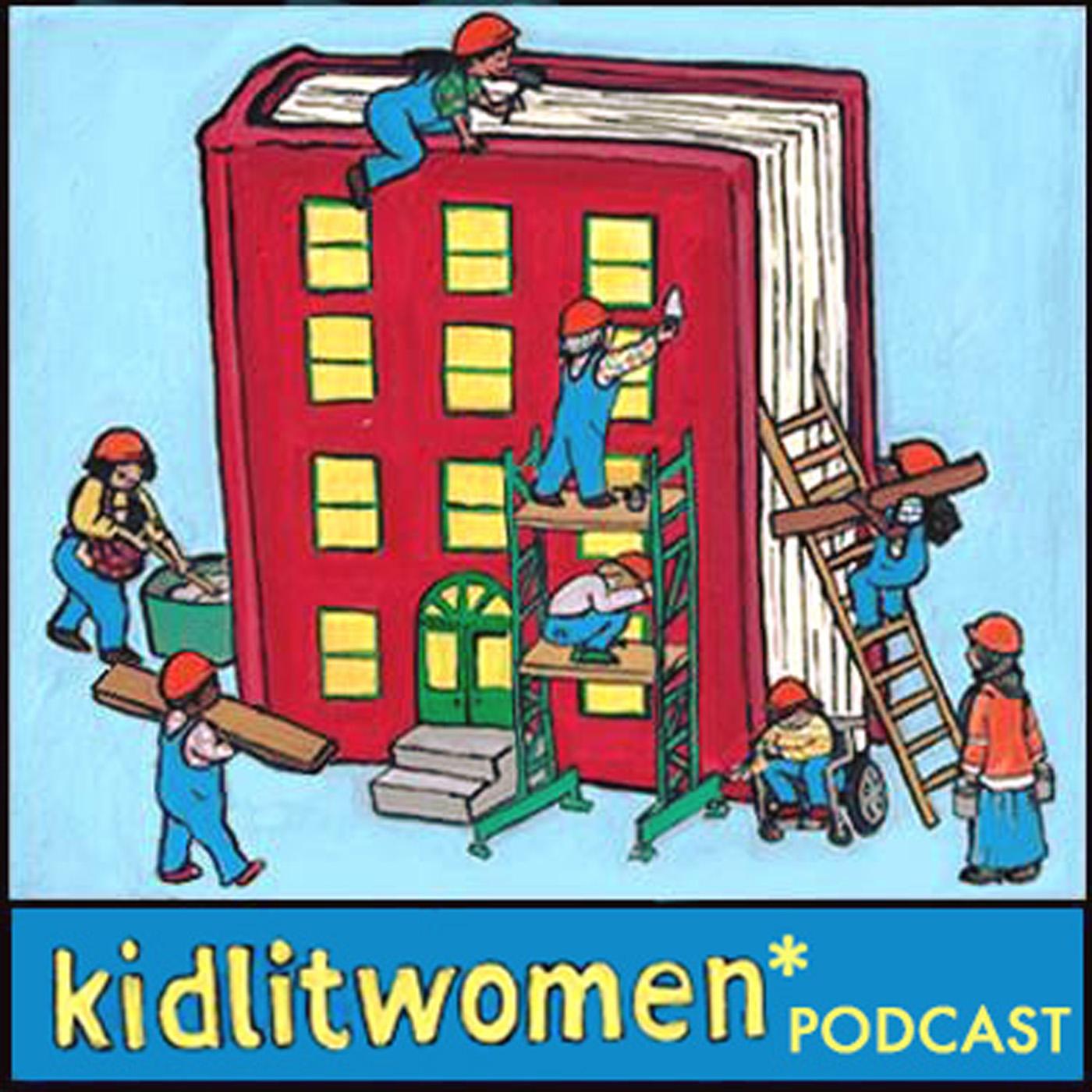 kidlit women* podcast show art