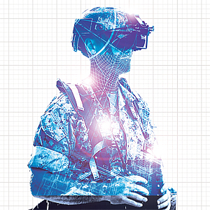 Artwork for December 2017 - Training for Tomorrow: Advanced technologies to revolutionize military simulations