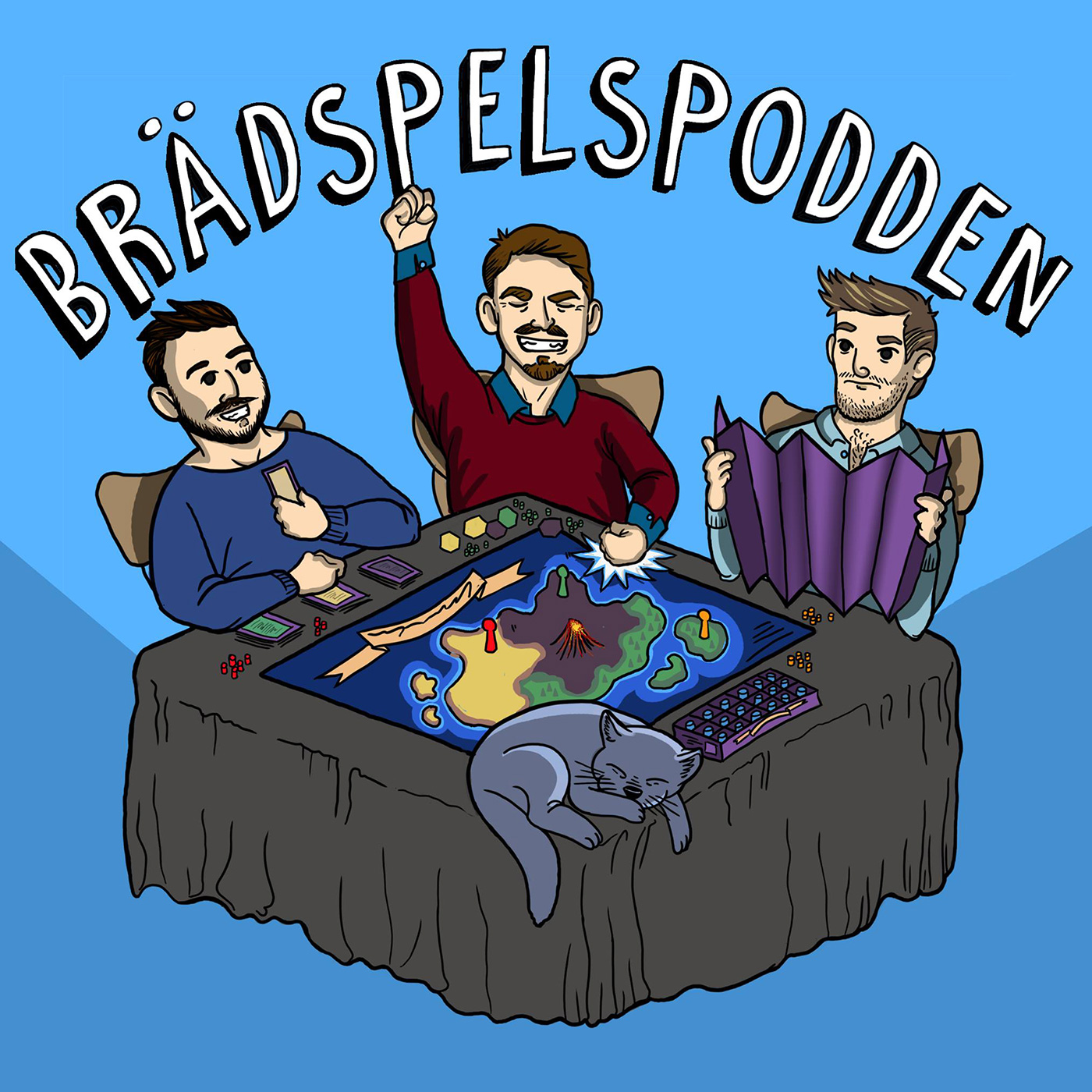 Artwork for Brädspelspodden 6 -Spelåret 2015