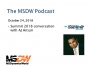 Artwork for MSDW Podcast: A Summit 2018 chat on Microsoft Dynamics SMB ERP with AJ Ansari
