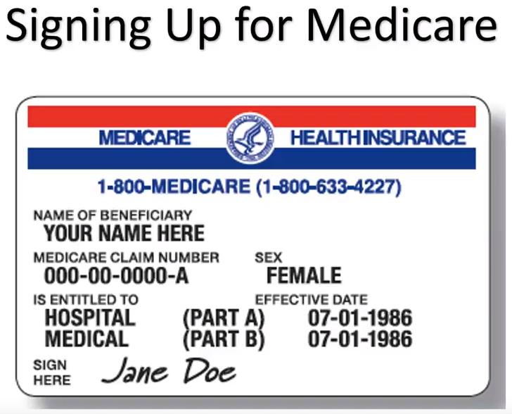 Artwork for Signing Up for Medicare