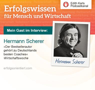 Im Gespräch mit Hermann Scherer