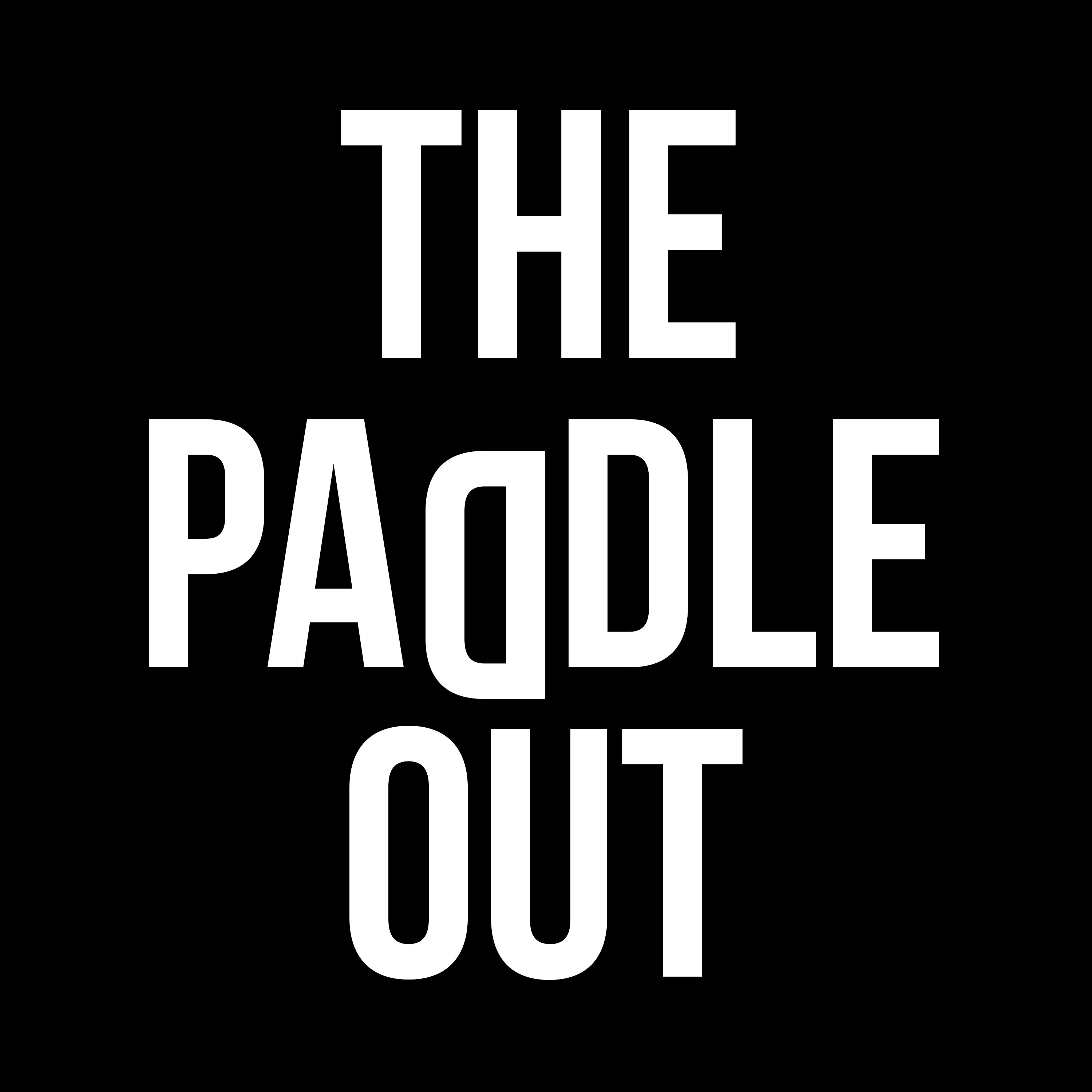 The Paddle Out show art