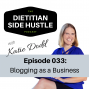 Artwork for DSH 033: Blogging as a Business