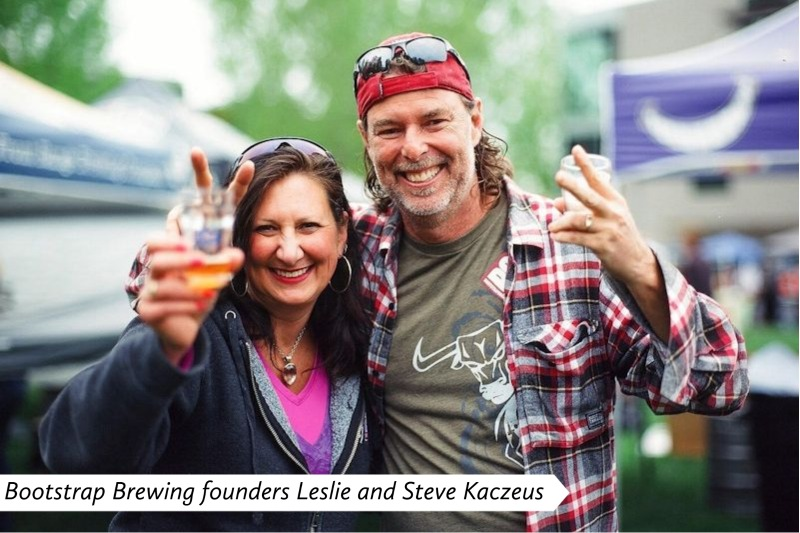 Bootstrap Brewing - Leslie and Steve Kaczeus