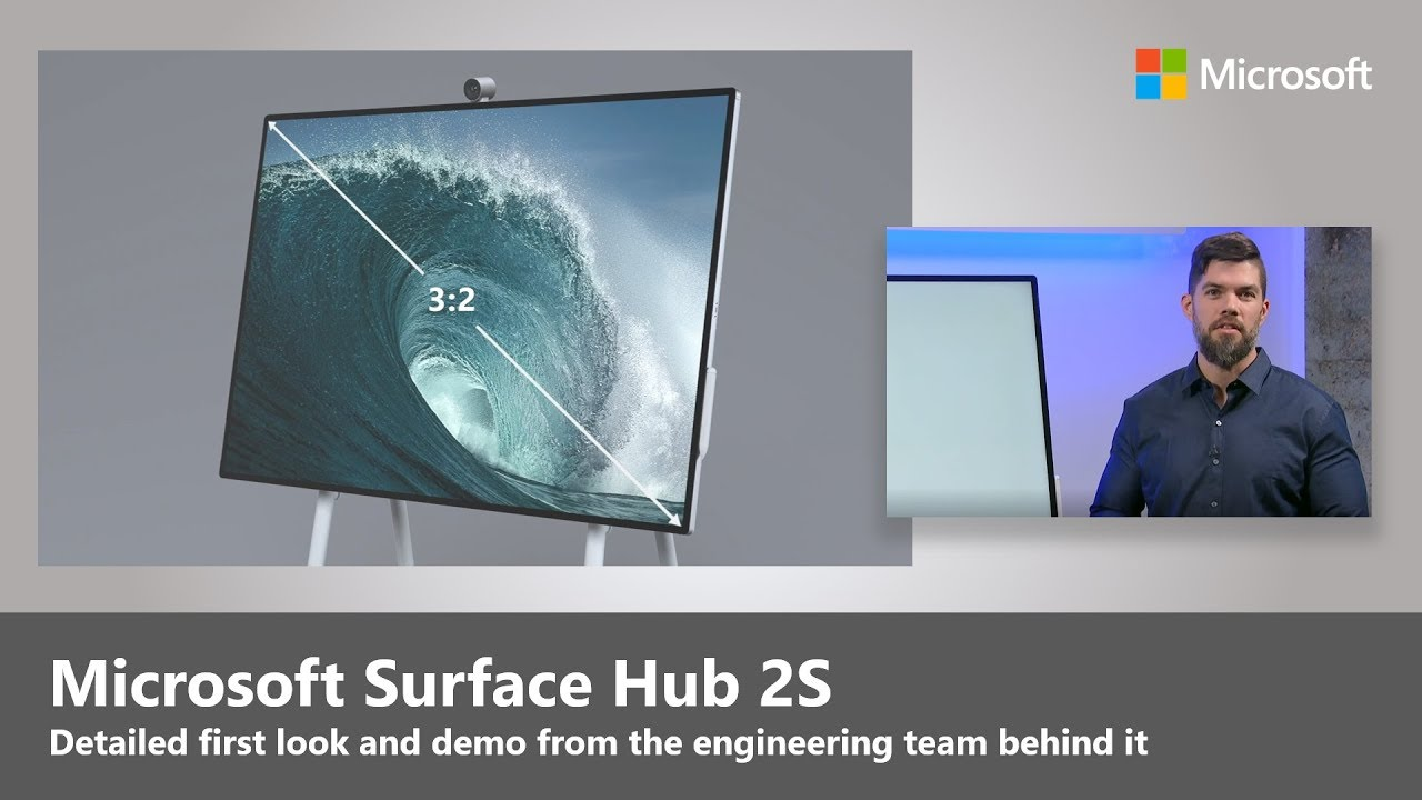 Artwork for What is the Surface Hub 2S?