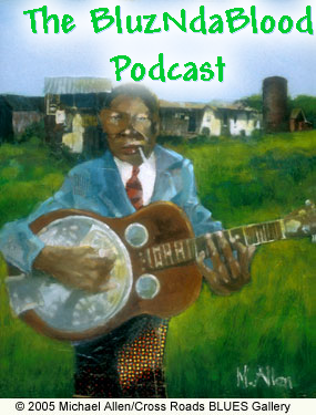 The BluzNdaBlood Show #44, Blarney Stone Blues!