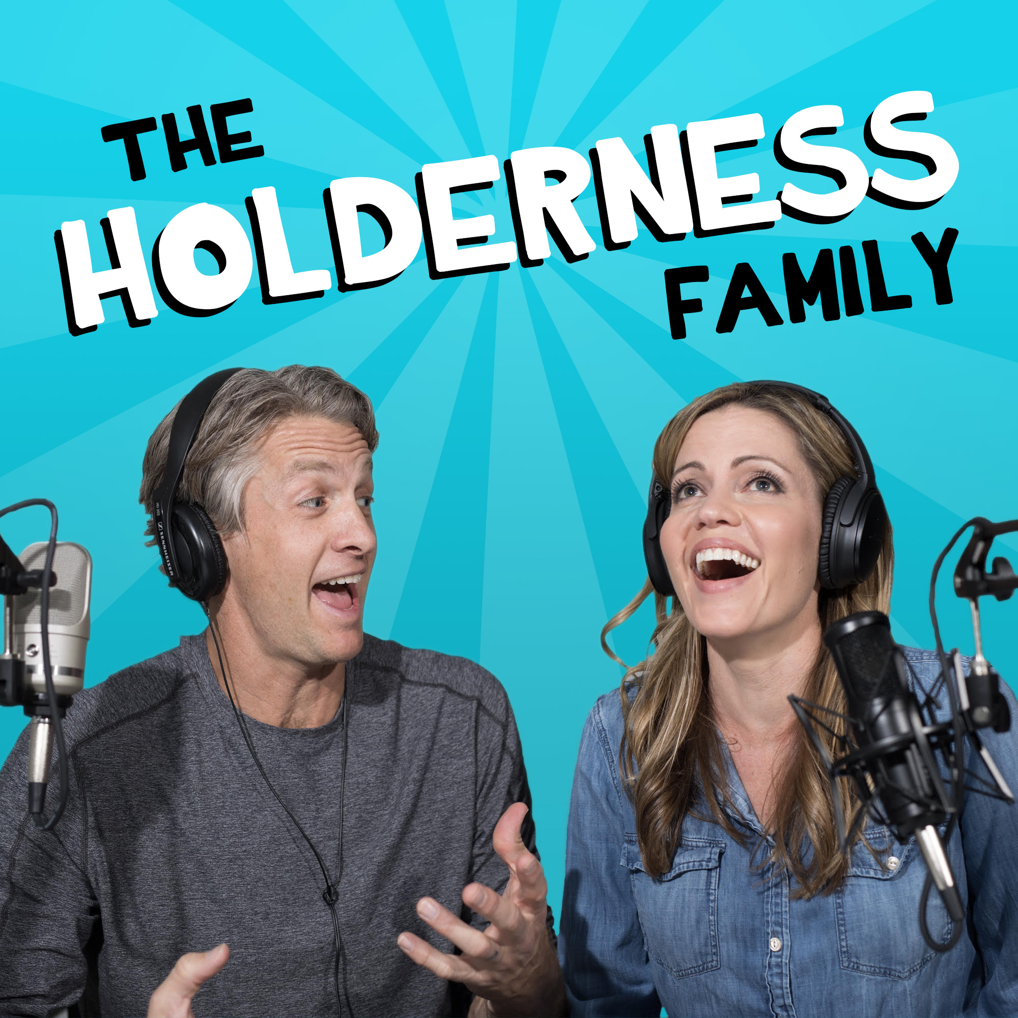 The Holderness Family Podcast show art
