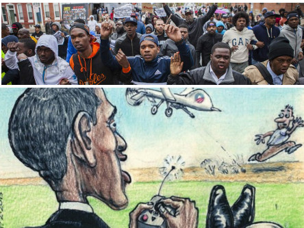 "Lawless President Obama Chides Baltimore ""Criminals and Thugs"", Ignores Savagery of Baltimore Police"