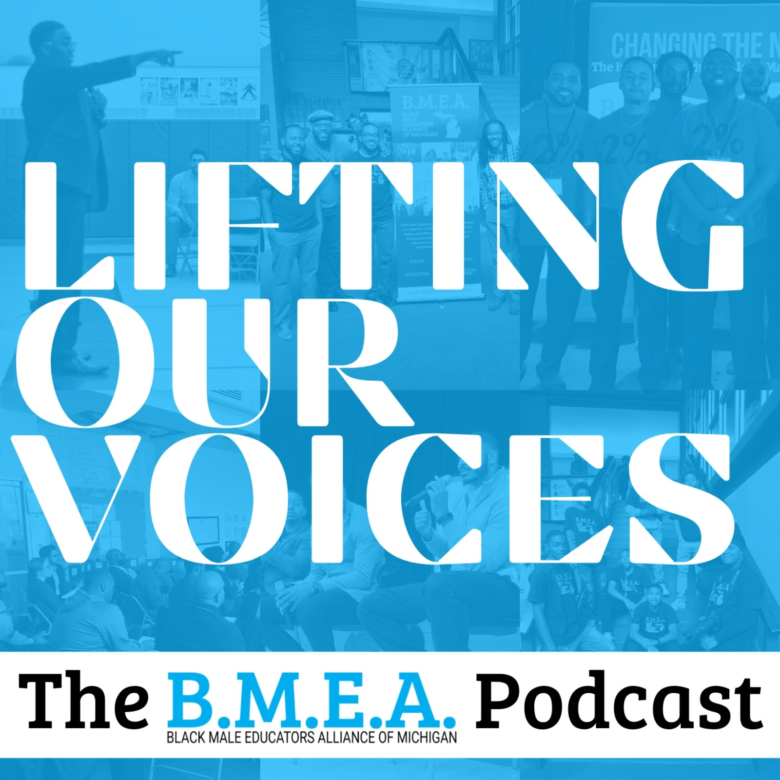 The BMEA Podcast - Lifting Our Voices show art