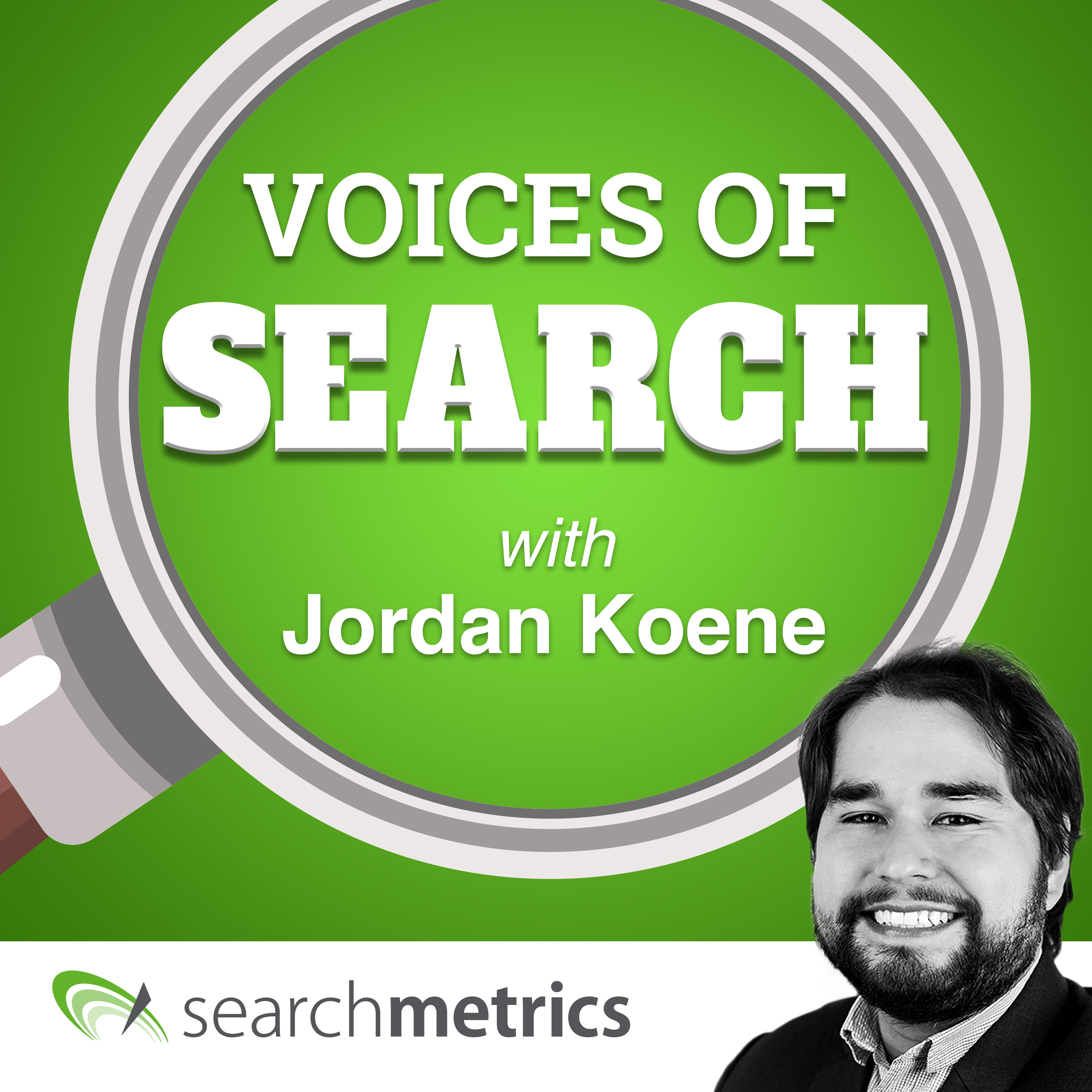 Voices of Search // A Search Engine Optimization (SEO) & Content Marketing Podcast with Jordan Koene of Searchmetrics show art