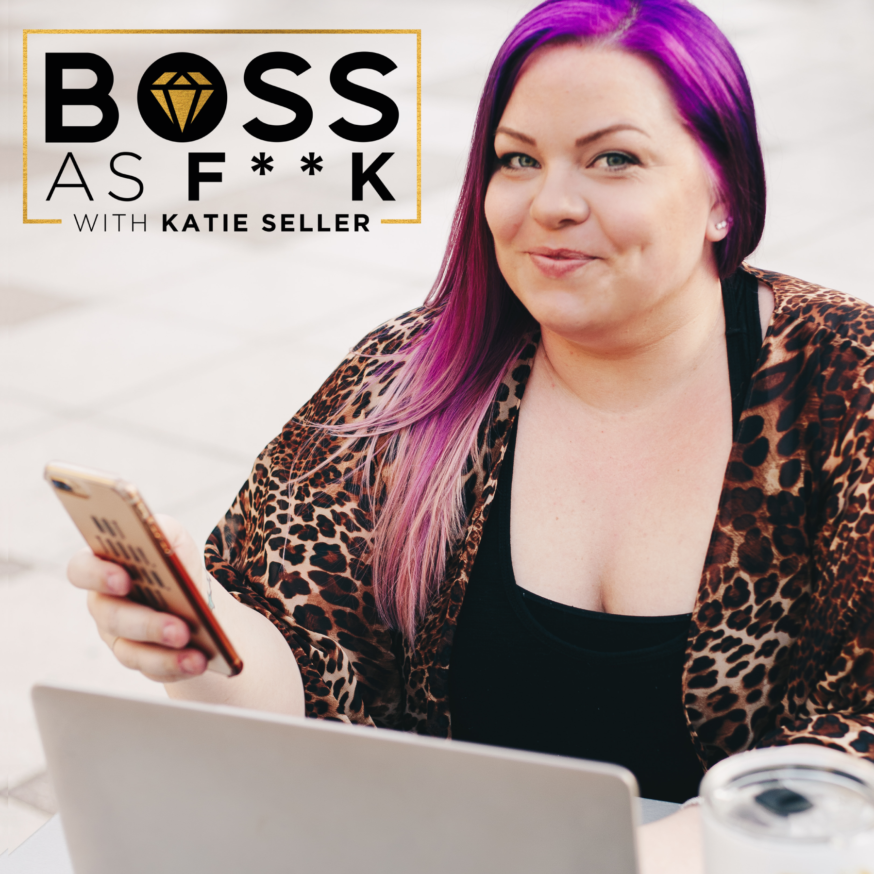 Boss as F**k Podcast show art