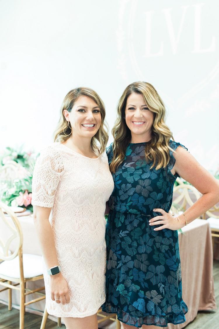 Lindsay Longacre and Heather Hoesch LVL Academy