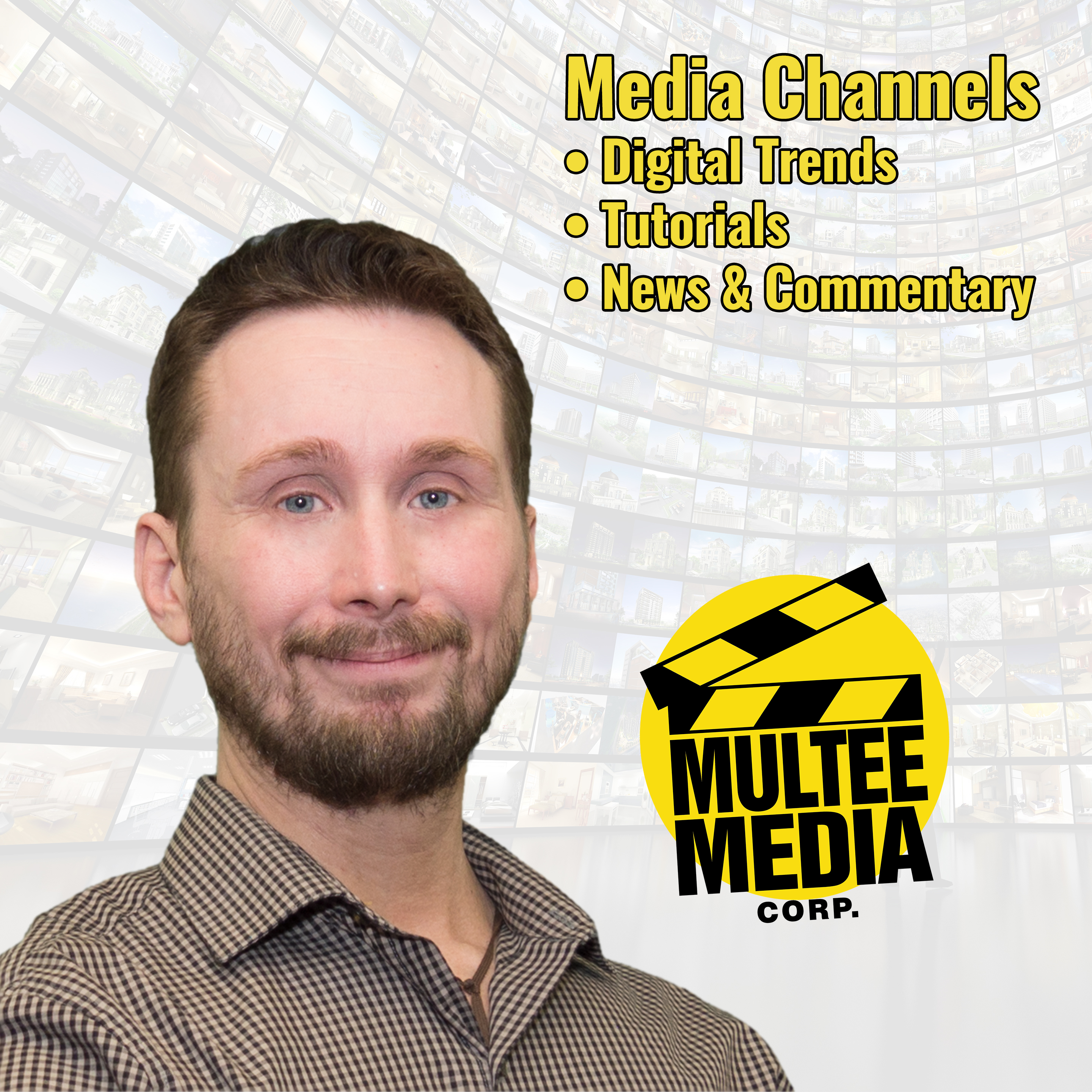 Media Channels Podcast show art