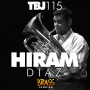 """Artwork for TBJ115: Hiram Diaz, euphonium player in """"The President's Own"""" Marine Band, on the High Bridge Brass Quintet, audition prep and being a terrible shot"""