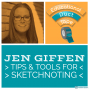 Artwork for Jen Giffen: Sketchnoting Tips & Tools