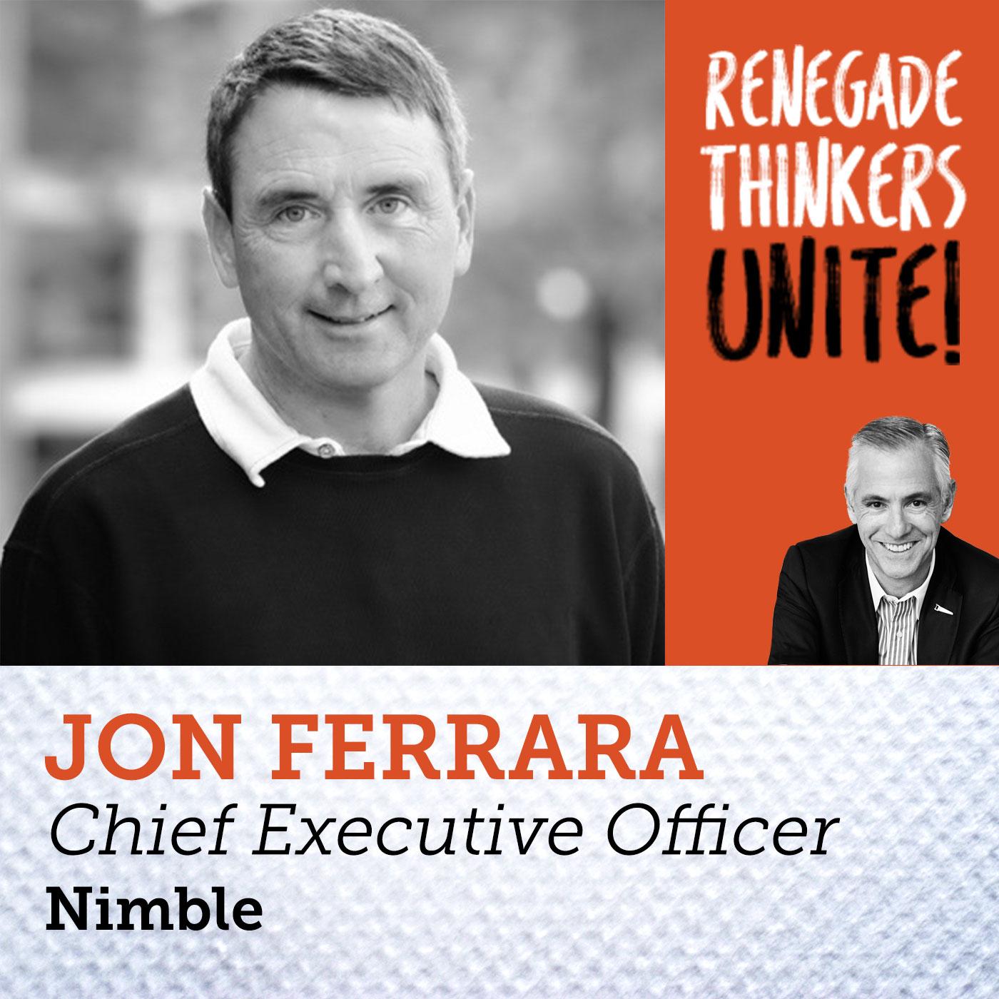 Artwork for 26: Proof Positive that Social Selling Works w Nimble CEO Jon Ferrara