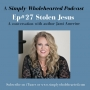 Artwork for  #27 Stolen Jesus | a conversation with author Jami Amerine