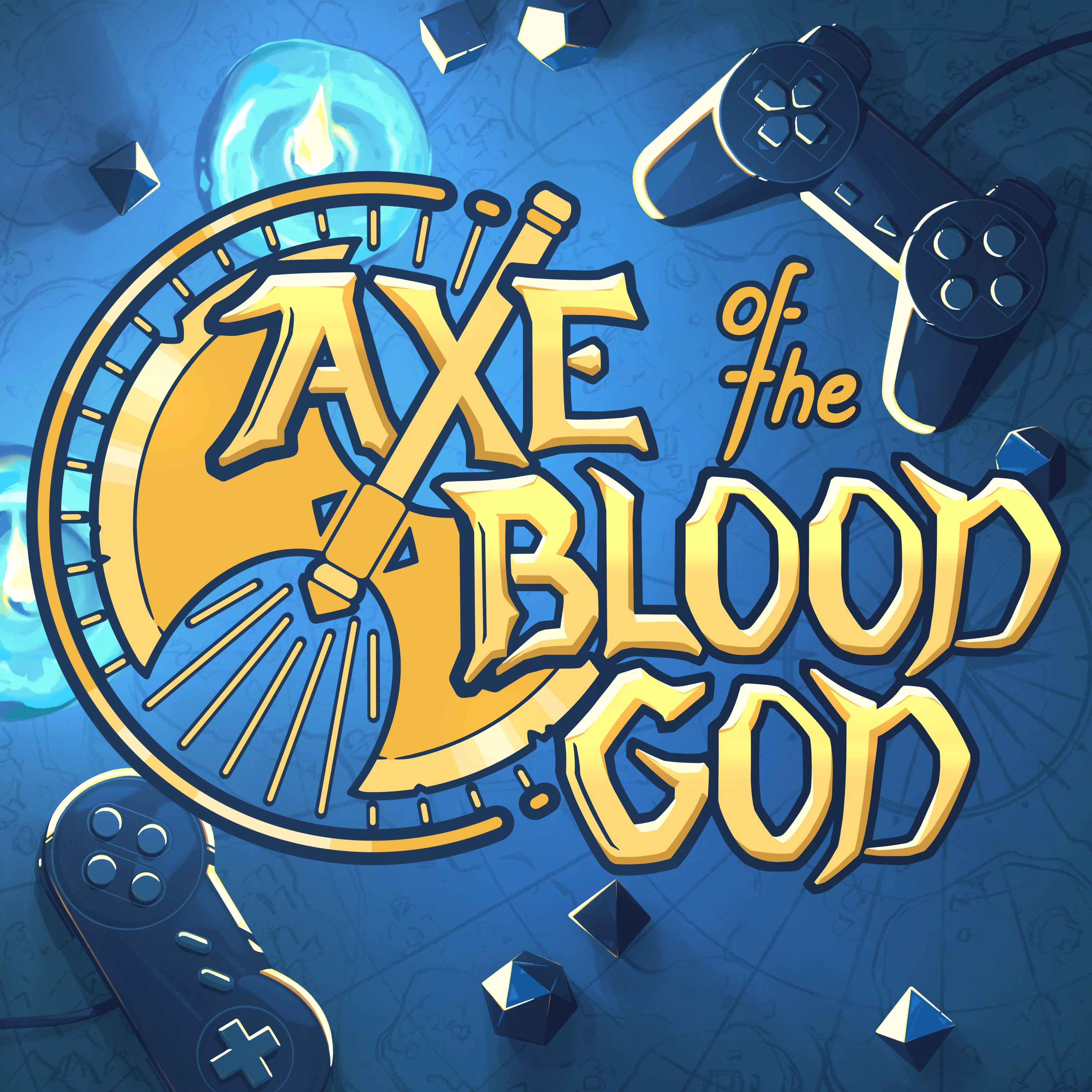 Axe of the Blood God: An RPG Podcast show art