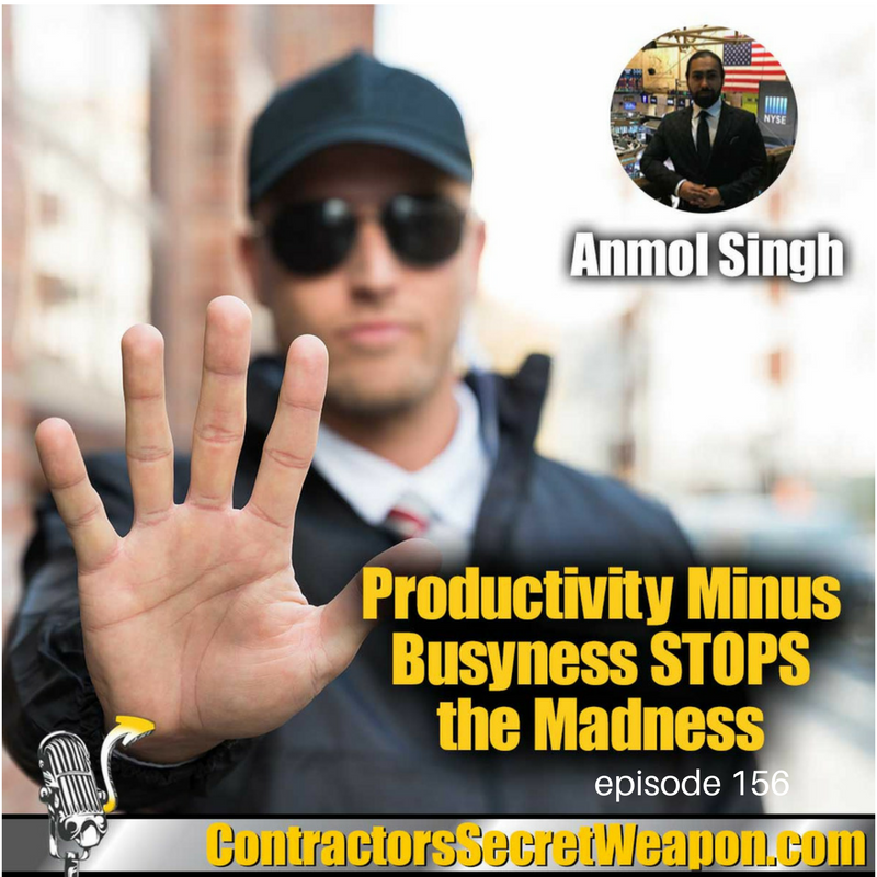 Productivity Minus the Busyness   STOPS the Madness Anmol Singh 156