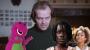 Artwork for Fantasy Movies: Jack Nicholson & Barney The Dinosaur In A Horror