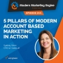 Artwork for 5 Pillars of Modern Account Based Marketing in Action