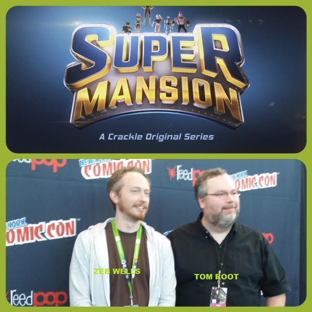 Episode 655 - NYCC: SuperMansion w/ Tom Root/Zeb Wells!