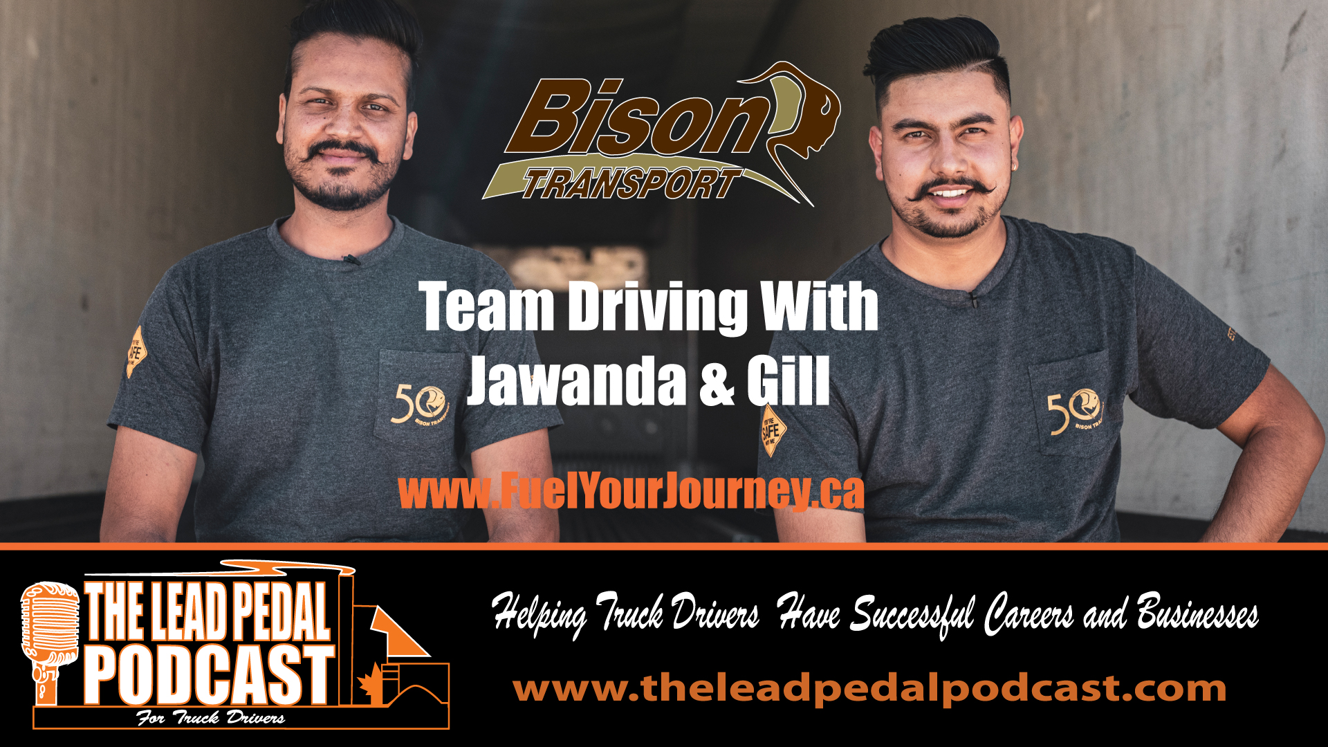 Team Driving with Bison Transport