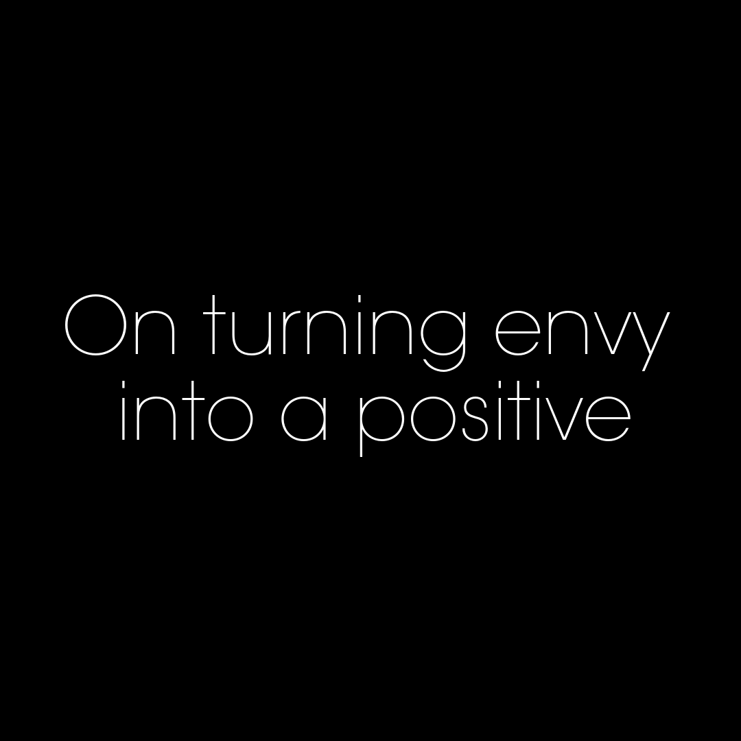 Artwork for On turning envy into a positive