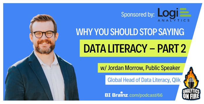 Jordan Morrow Analytics on Fire Podcast Artwork