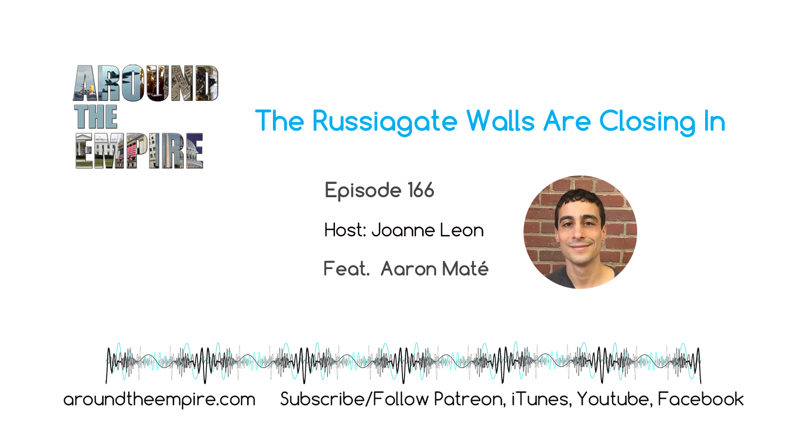 Ep 166 The Russiagate Walls Are Closing In feat Aaron Maté