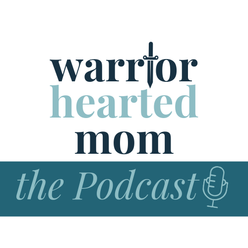 Warrior Hearted Mom show art