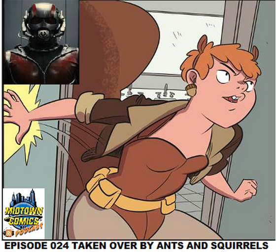 Episode 024 Taken Over By Ants and Squirrels