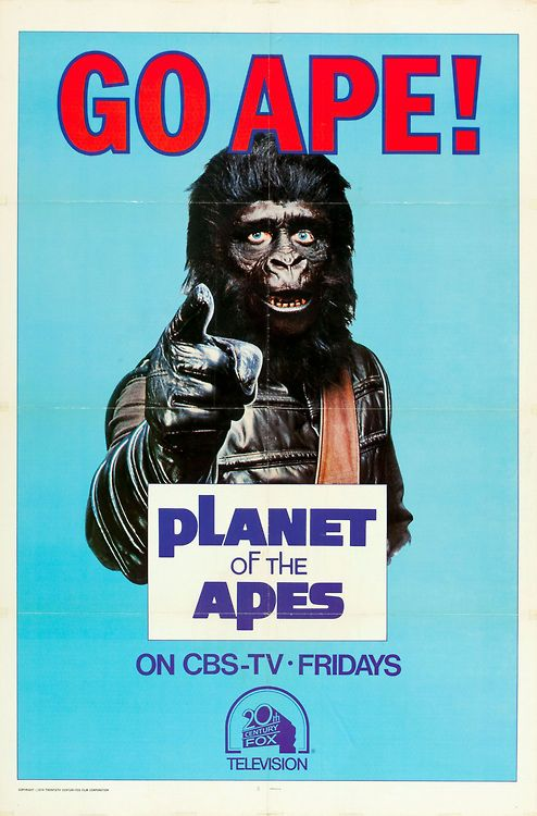 Back in Toons/Video Night!: Planet of the Apes franchise