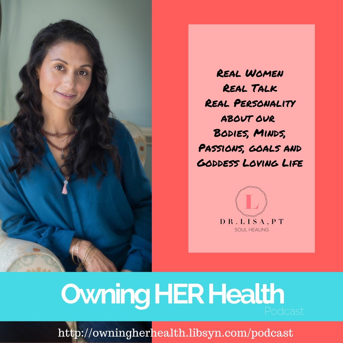 Owning HER Health podcast show art