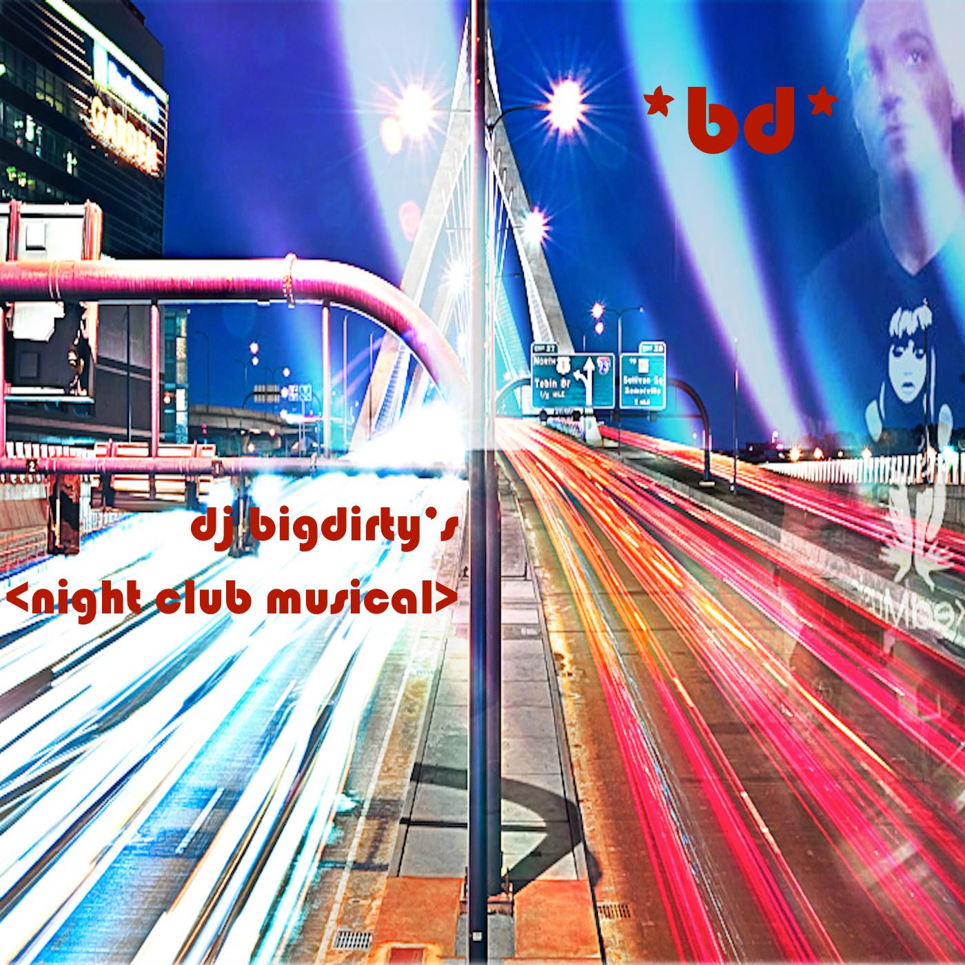 dj bigdirty's: night club musical show art