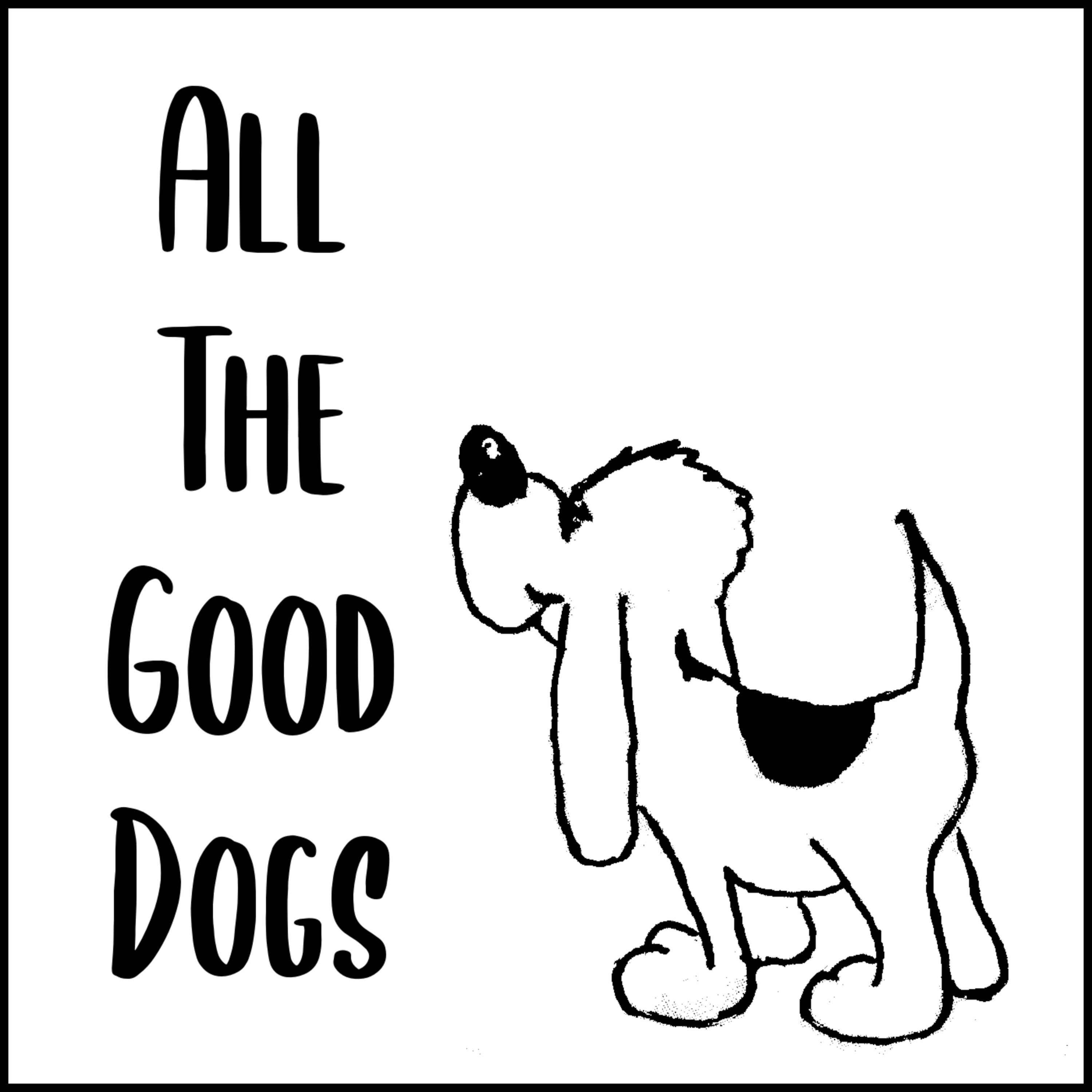 All The Good Dogs show art
