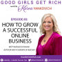 Artwork for 085 - How to Grow a Successful Online Business with Natalie Eckdahl From Bizchix