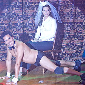 Oh the Humanity! Oscar Nunez Strips for The Proposal