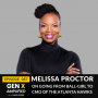 Artwork for 057: Melissa Proctor on Going from Ball-Girl to CMO of the Atlanta Hawks